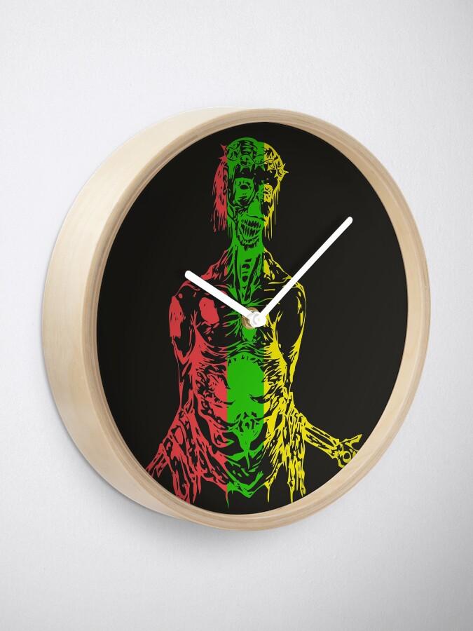 Vista alternativa de Reloj horripilante