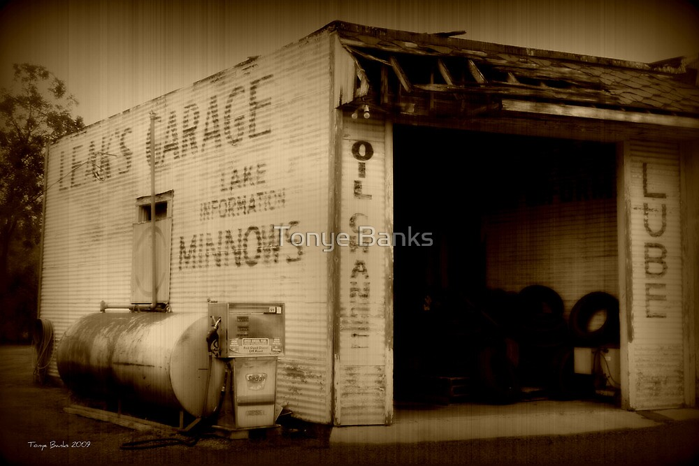 Leak's Garage by Tonye Banks