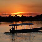 Flores Sunset-Belize,Central America by graeme edwards