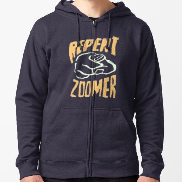 Repent Zoomer Zipped Hoodie