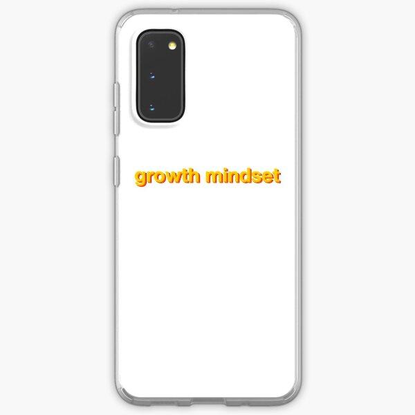 growth mindset Samsung Galaxy Soft Case
