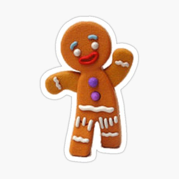 gingerbread man Sticker