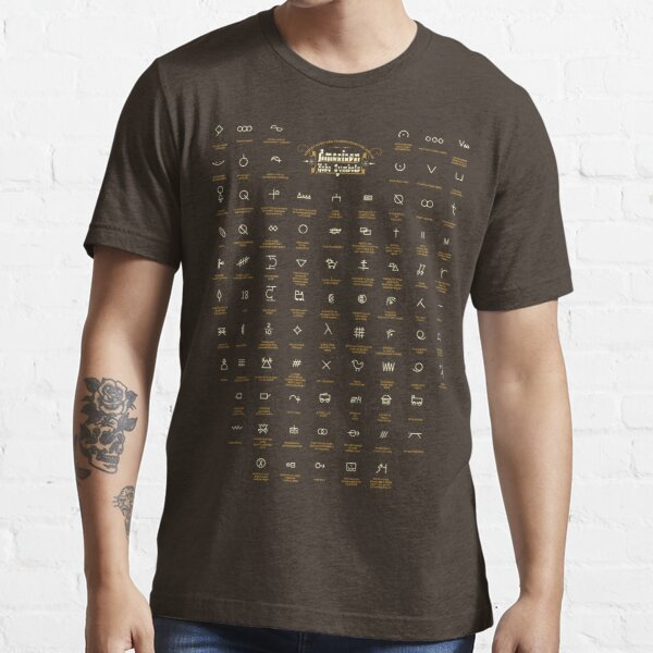 Hobo and Tramps Symbols, American mythology #4. Essential T-Shirt