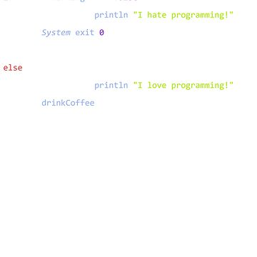 Programmer's code of life by Rababau