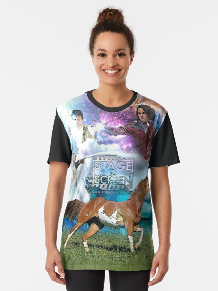 Alternate view of stage2screen Erina Heights Junior Graphic T-Shirt