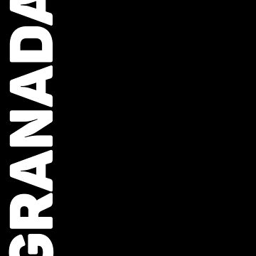 Granada T-Shirt by designkitsch
