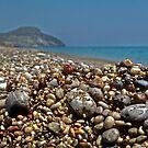 Santorini--Pebble Beach by milton ginos
