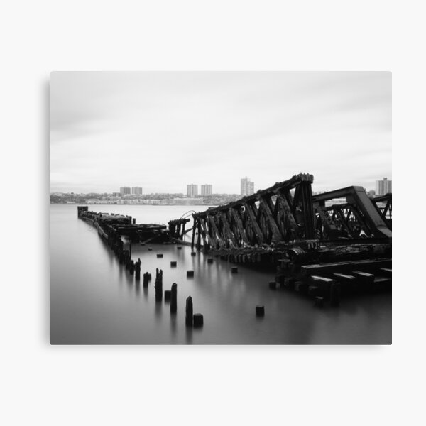 riverside remains Canvas Print