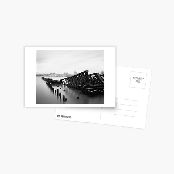 riverside remains Postcard