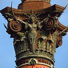 Christopher Columbus Monument, Barcelona by wiggyofipswich