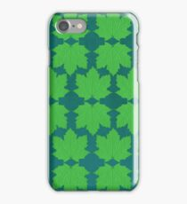 Sugar Maple in Green iPhone Case/Skin