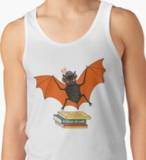 Bat granny in the library  Tank Top