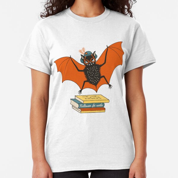 Bat granny in the library  Classic T-Shirt