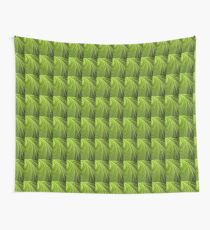 Green Flow Abstract Wall Tapestry