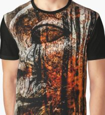 Face in the autumn forest Graphic T-Shirt
