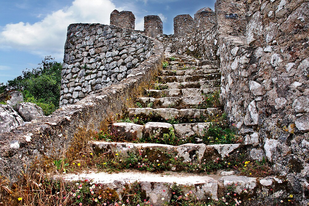 Stairway to.....? by Adri  Padmos
