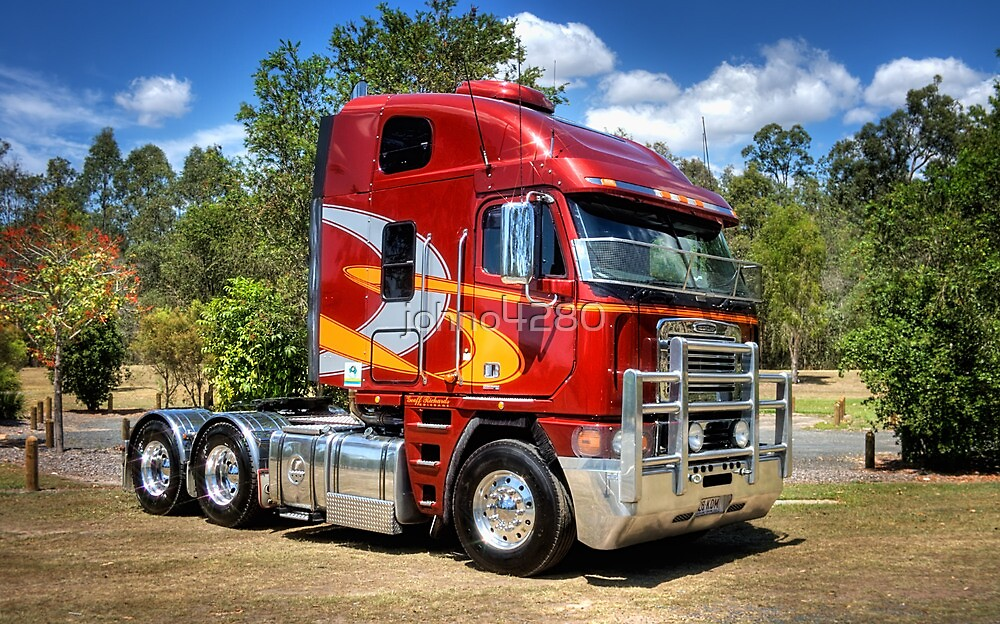 Mick's Freightliner by johno4280