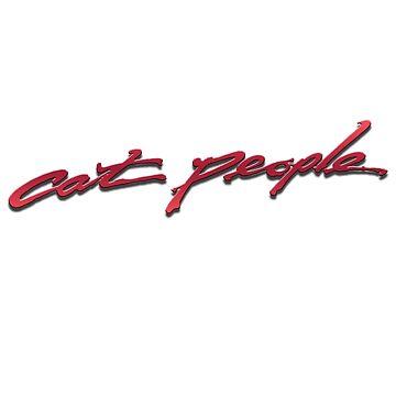 Cat People 1982 Paul Schrader Movie Logo by tomastich85