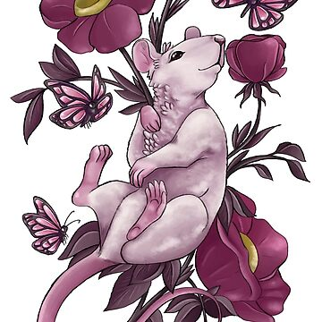 Floral Rat by SamanthaSawyer