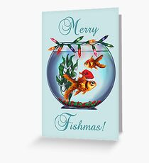 Merry Fishmas! Greeting Card