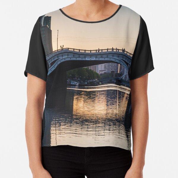 Melbourne Princes Bridge Chiffon Top