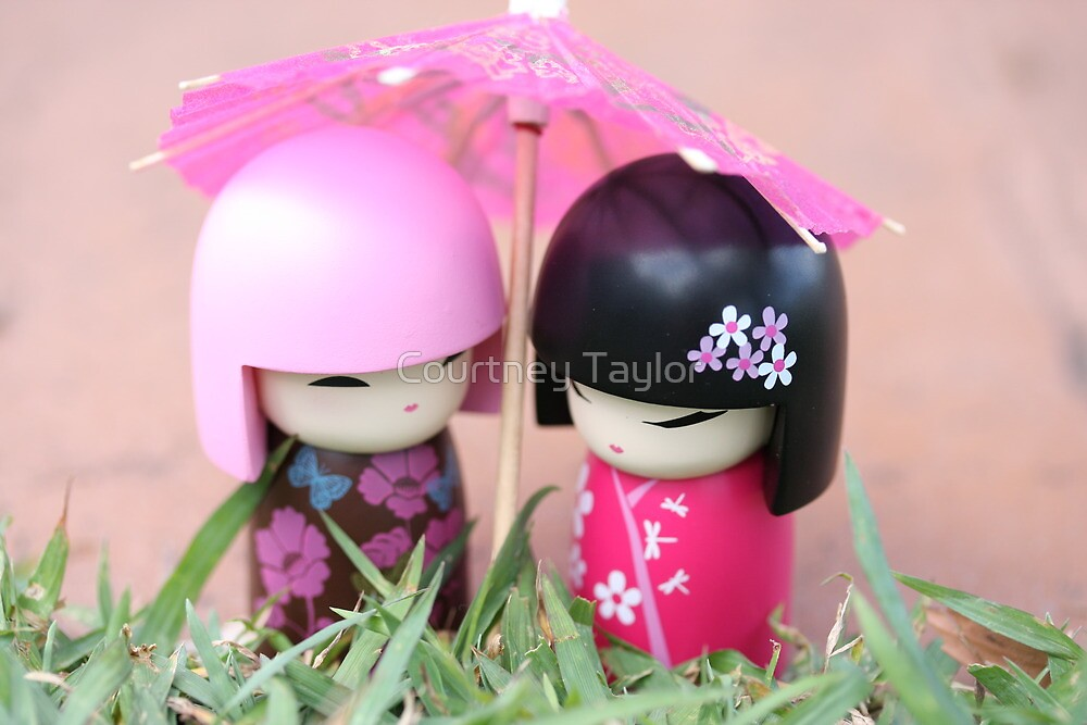 China doll friends by Courtney Taylor