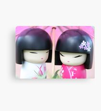 China doll friends #3 Canvas Print