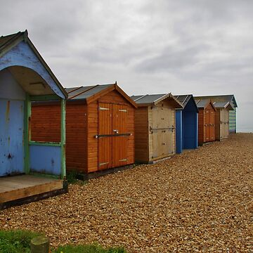 Hayling Beach Huts by lezvee