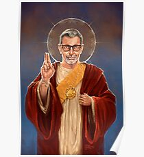 Saint Jeff of Goldblum Poster
