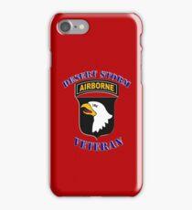 101st Airborne Desert Storm Veteran - iPhone Case iPhone Case/Skin
