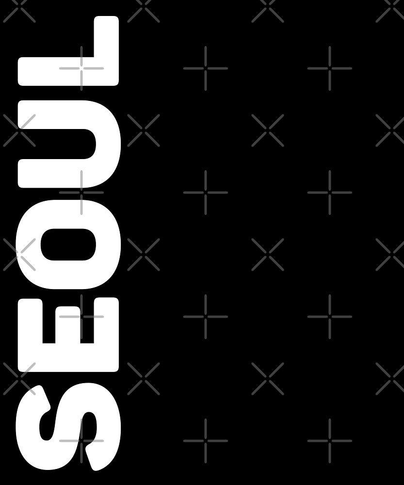Seoul T-Shirt by designkitsch