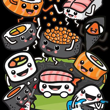 Sushi Rock by plushism