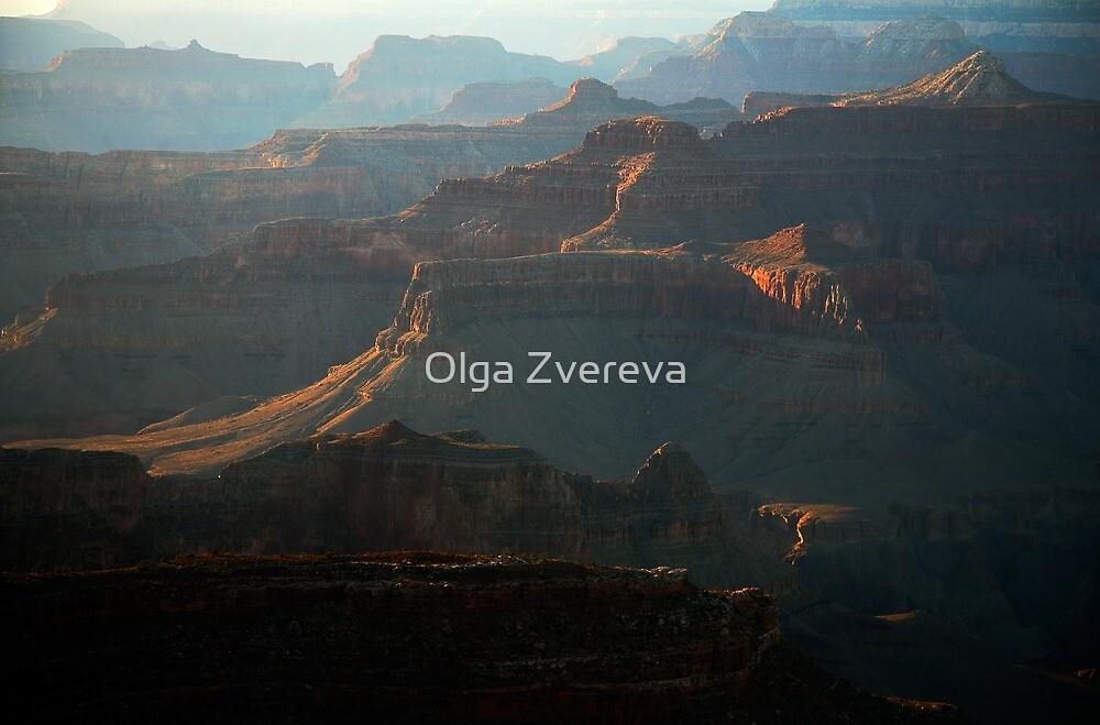 Evening Haze over Grand Canyon by Olga Zvereva
