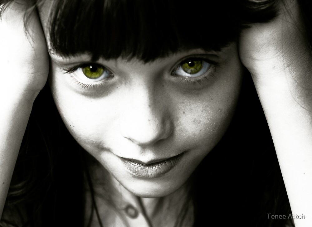 Green Eyes by Tenee Attoh