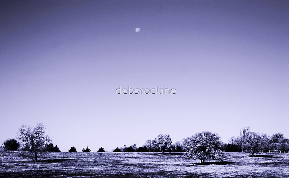 Blue Scape by debsrockine