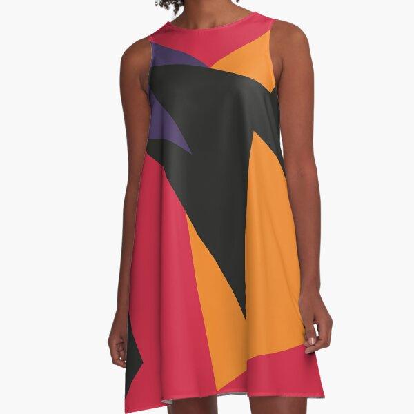 Jordan VII Raptors A-Line Dress