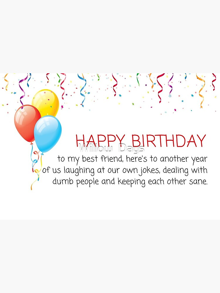 Strange Best Friend Birthday Card Best Mate Birthday Card Bff Card Personalised Birthday Cards Veneteletsinfo