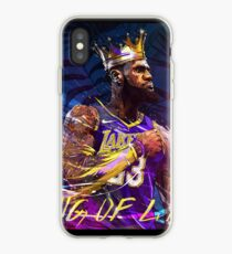 Lebron at the Lakers iPhone Case