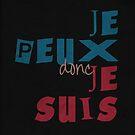 Quote - je peux donc je suis by Simone Veil by Adarve  Photocollage