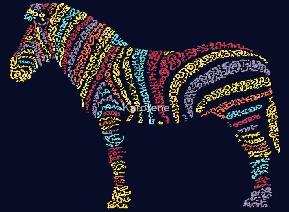 Zebra by Karotene