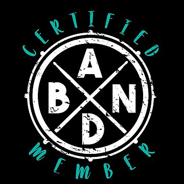 Certified band member saying fan guitarist by tamerch
