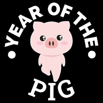 Chinese Zodiacs Year of the Pig - Gift Idea by vicoli-shirts
