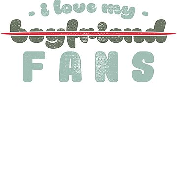 I do not love my fans separation my friend by tamerch