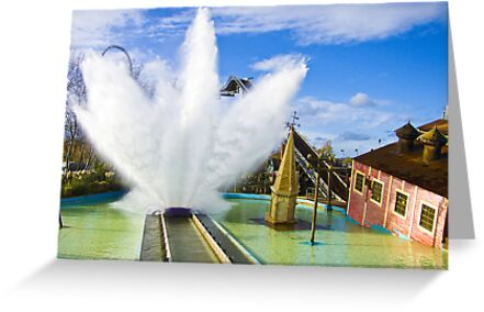 Tidal Wave - Thorpe Park by Colin  Williams Photography