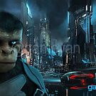 Cinematic 3D Character of Kung Fu Ape – sci-fi Cartoon feature film - Rome, Italy by GameYan