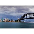 Stormy Sydney by Kirk  Hille
