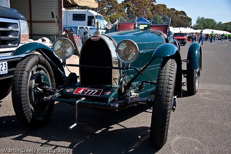 Bugatti racer by Martin Creely