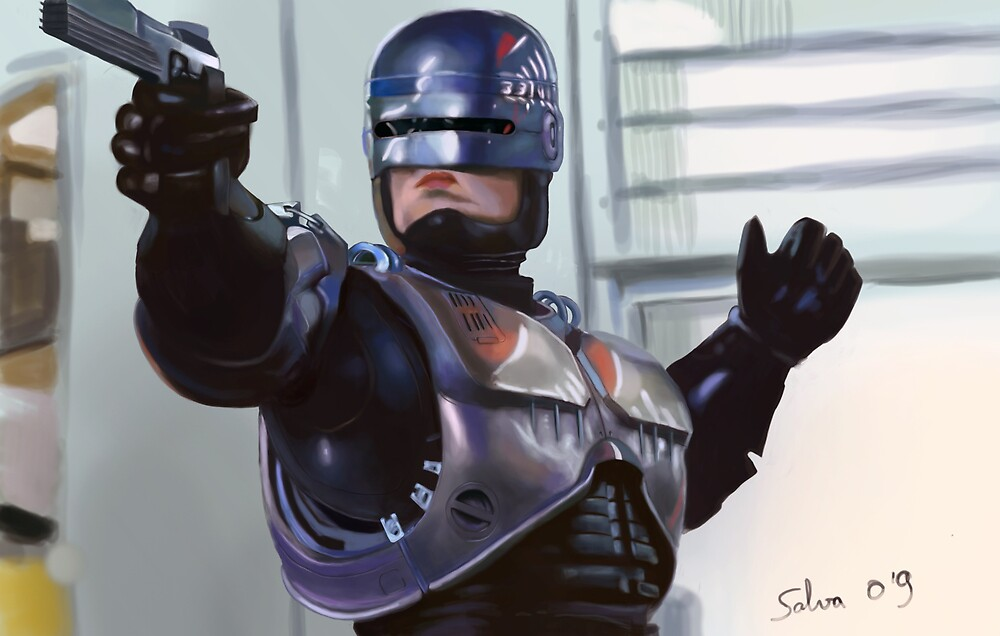 robocop 80  by salvuky