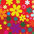 Colorful flowers by PF-Design