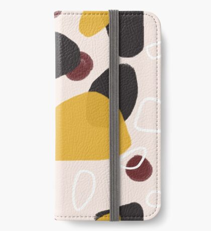 Abstract Fall I #redbubble #abstractart iPhone Wallet